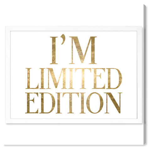 Limited Edition Luxe Gold Foil