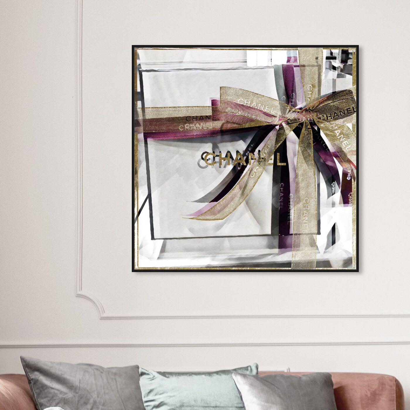 Hanging view of Lilac Gift Box featuring fashion and glam and fashion art.