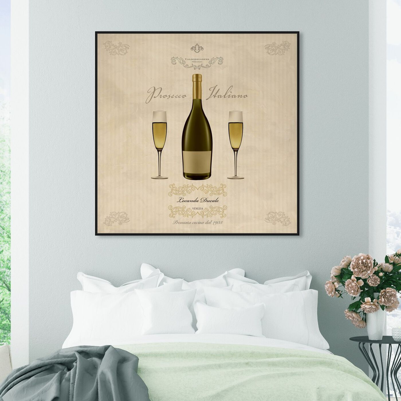 Hanging view of Sai - Prosecco Italiano 1SF1383 featuring drinks and spirits and wine art.