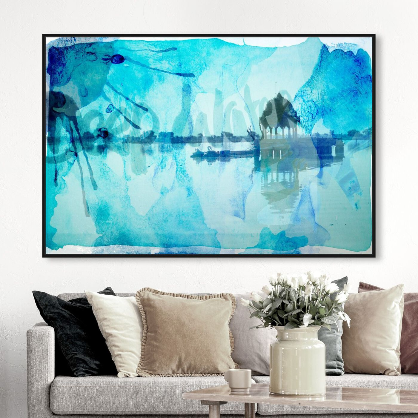 Hanging view of Deep Water featuring nature and landscape and nature art.