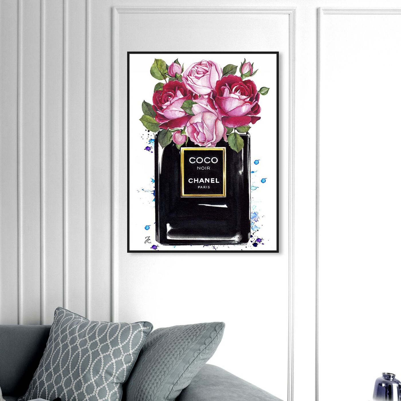 Hanging view of Doll Memories - Coco Roses featuring fashion and glam and perfumes art.