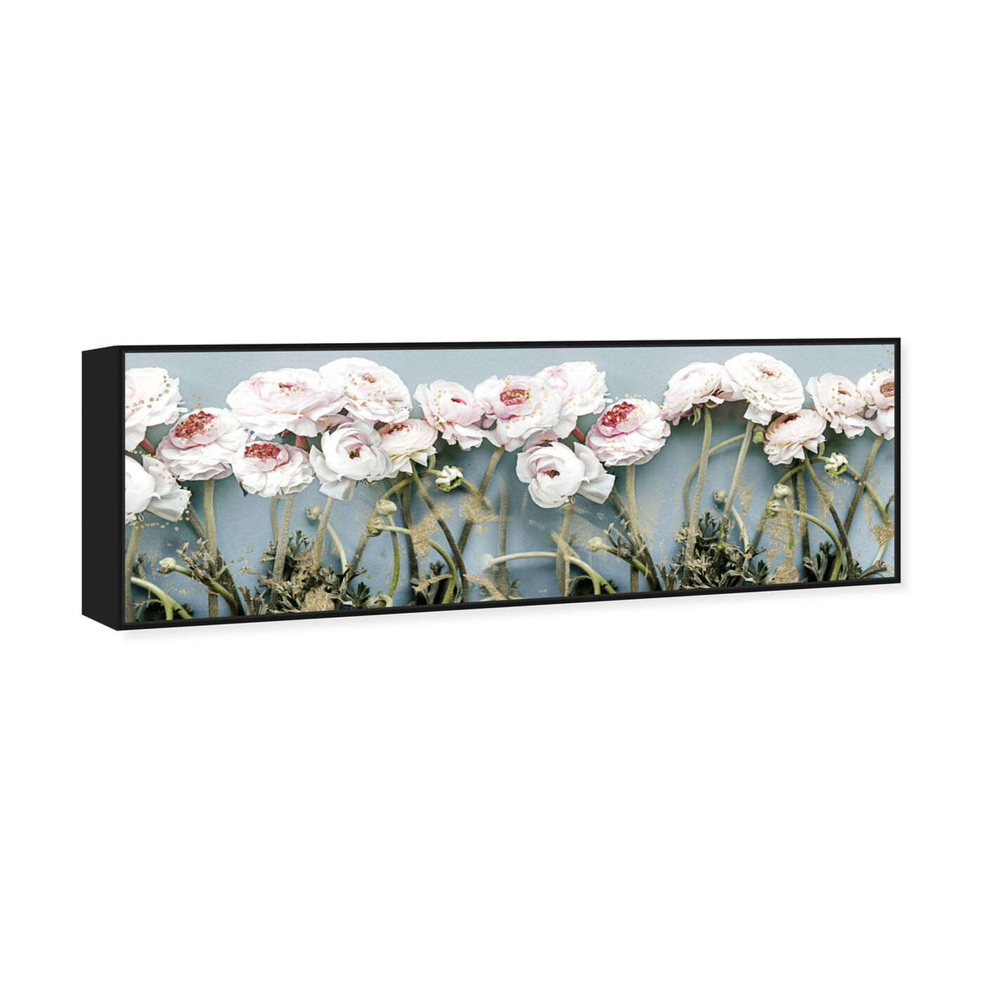 Angled view of Floral Dreaming featuring floral and botanical and florals art.