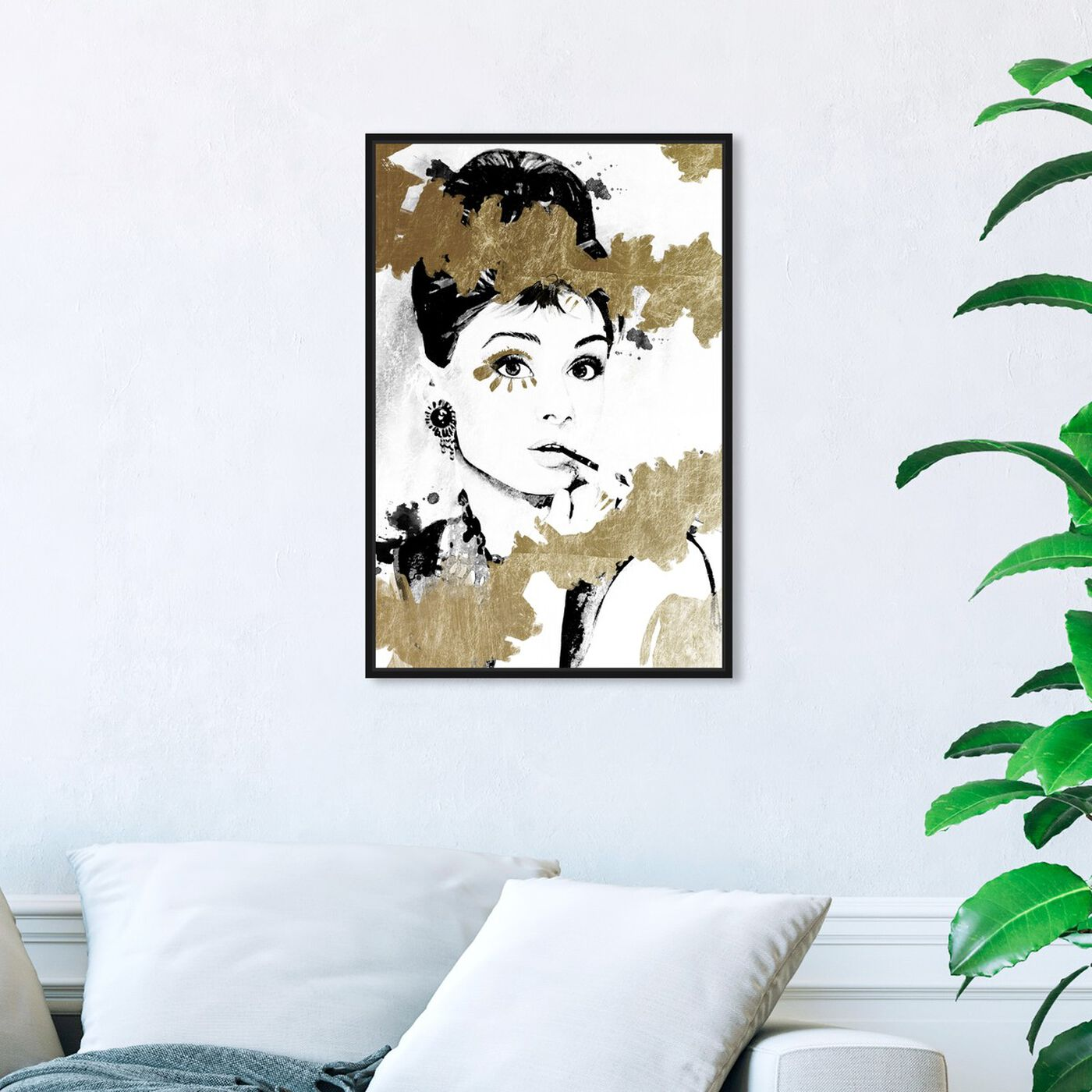 Hanging view of Always the One featuring fashion and glam and portraits art.