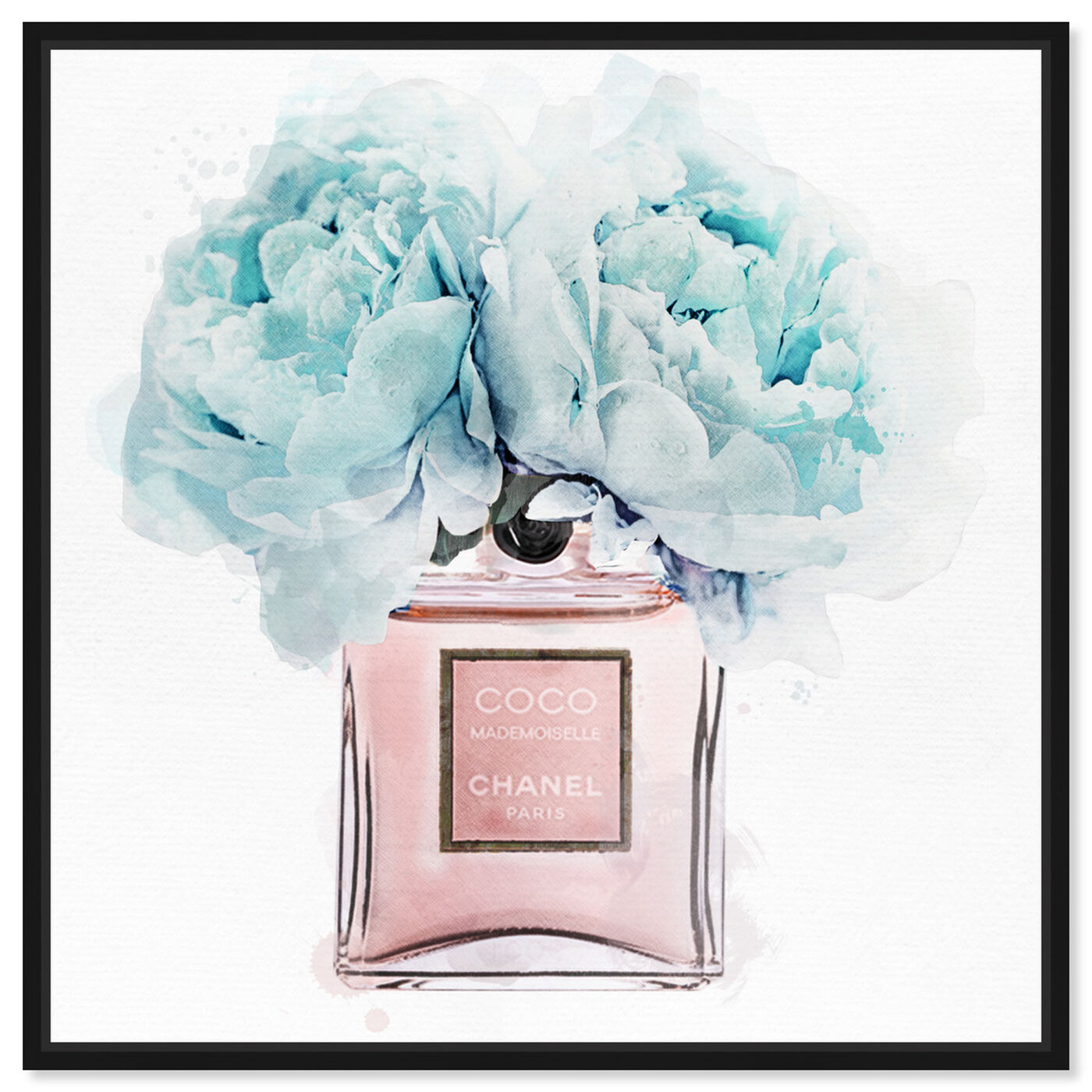 Front view of Dawn Morning Bouquet Blue featuring fashion and glam and perfumes art.