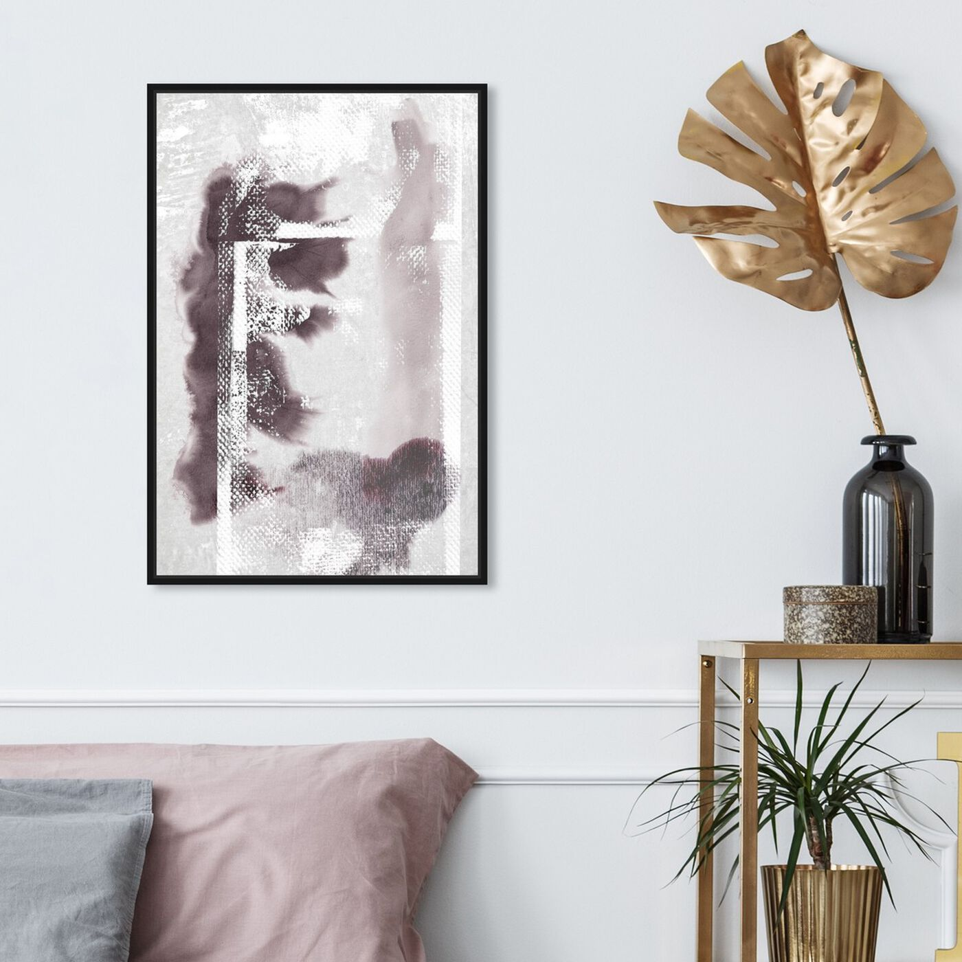 Hanging view of When Wiser and Older featuring abstract and paint art.