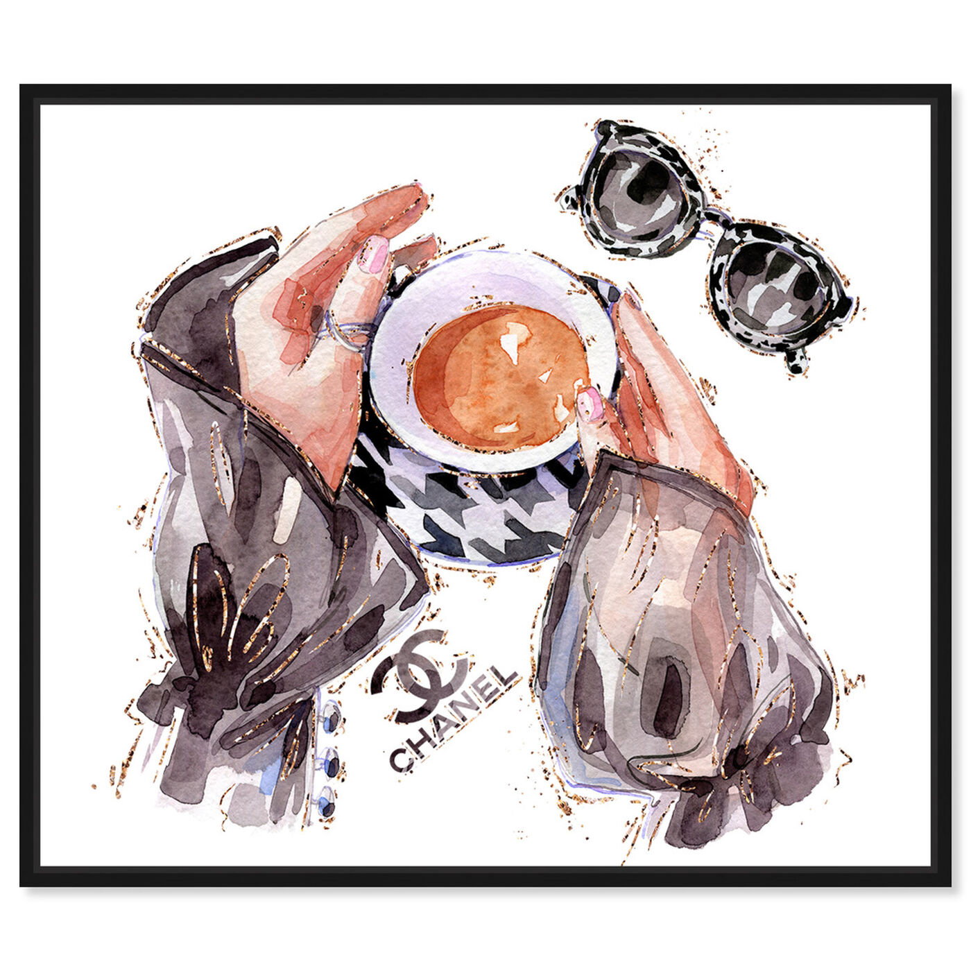 Front view of Silky Fashion and Coffee featuring fashion and glam and lifestyle art.
