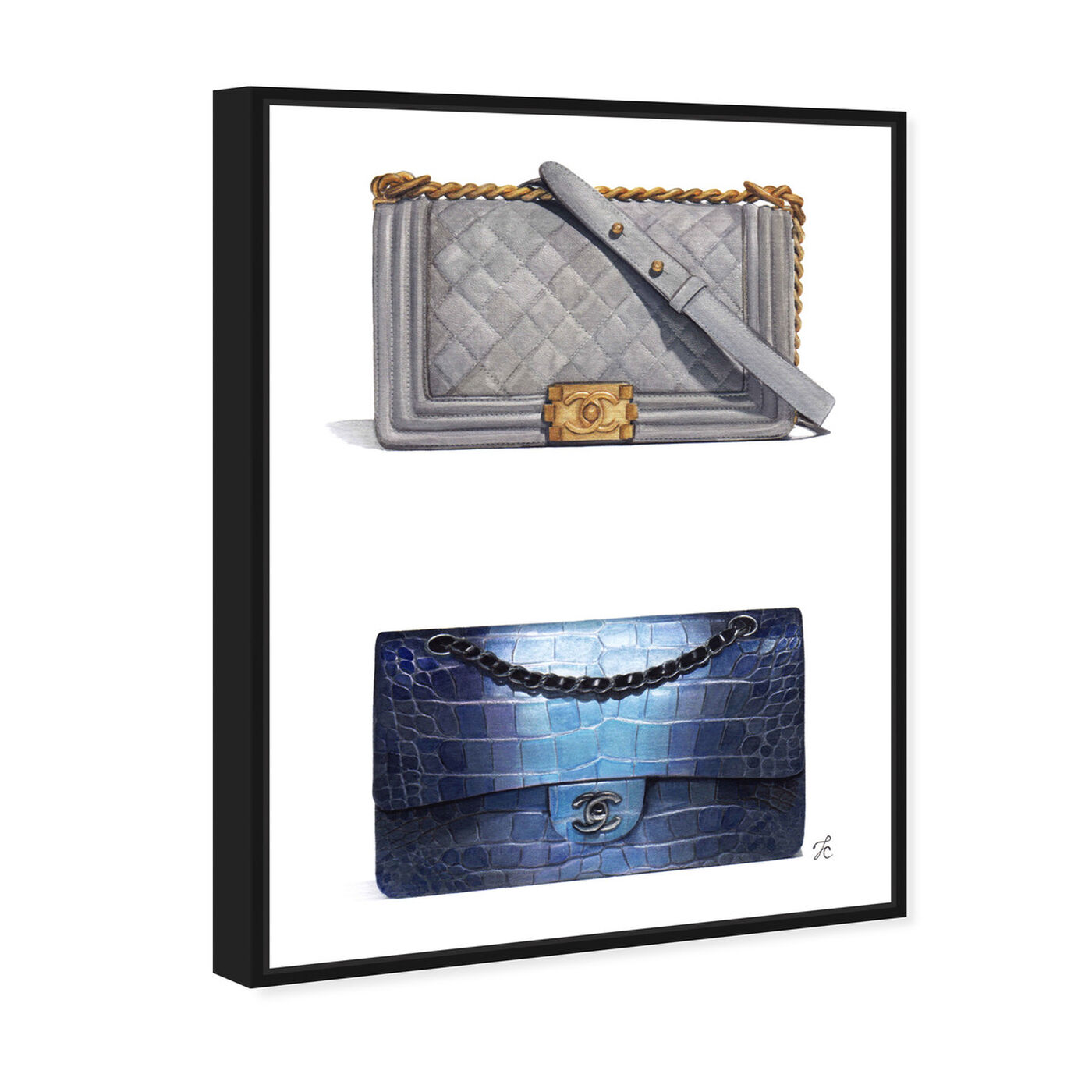 Angled view of Doll Memories - Course of Style featuring fashion and glam and handbags art.
