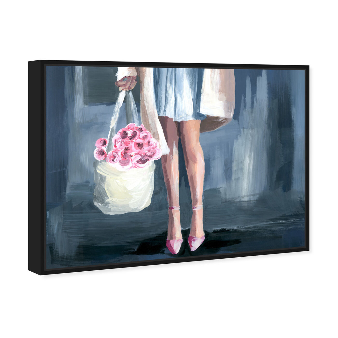 Angled view of Shopping for Flowers featuring fashion and glam and outfits art.