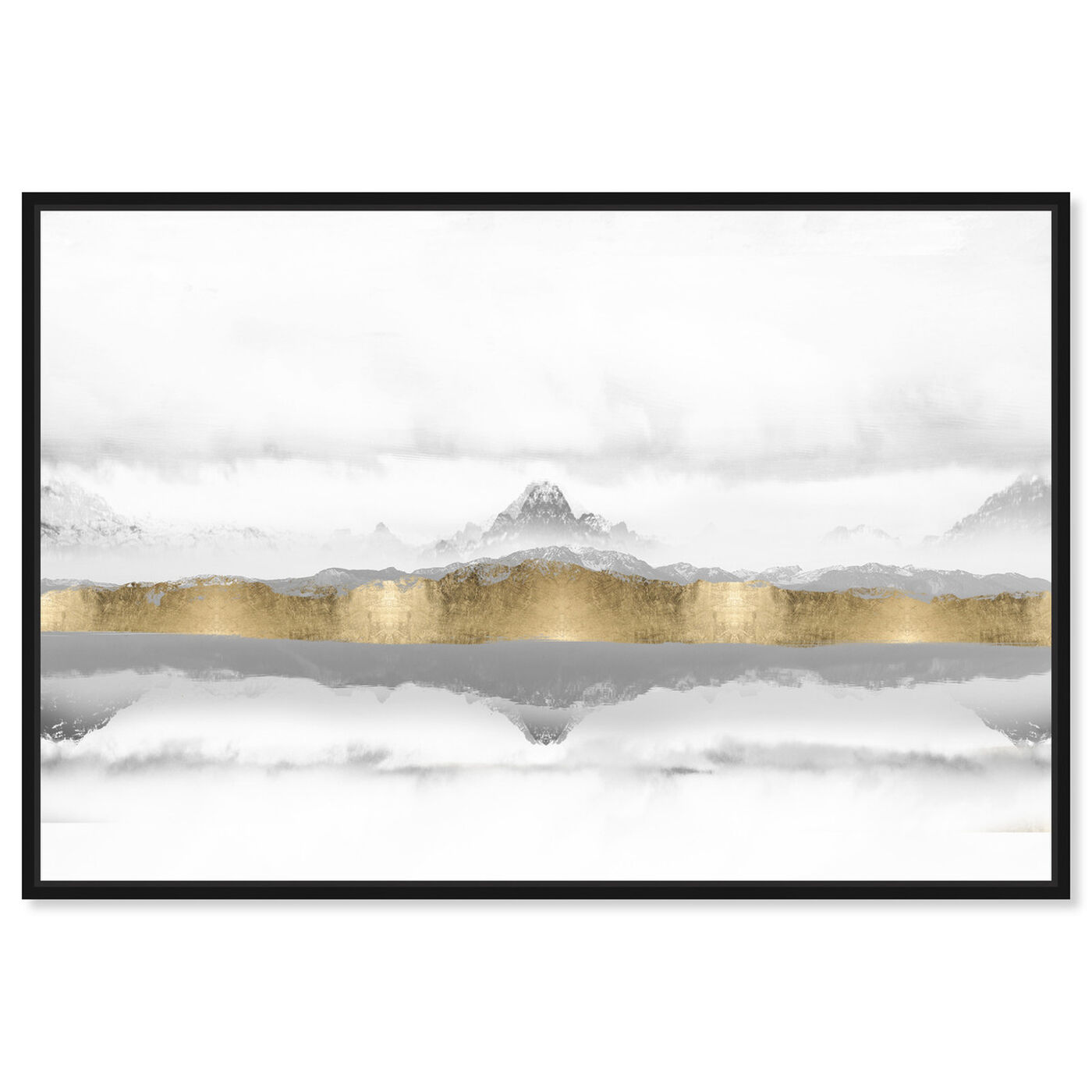 Front view of Mountain of the Heart featuring abstract and textures art.