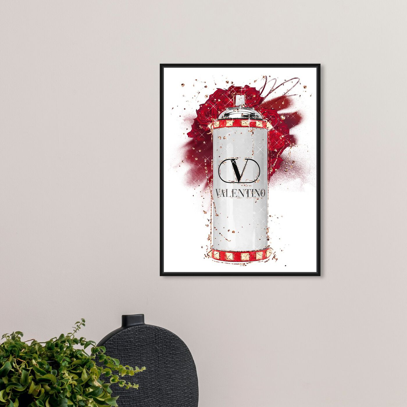 Hanging view of Fashion Spray Rose featuring fashion and glam and lifestyle art.