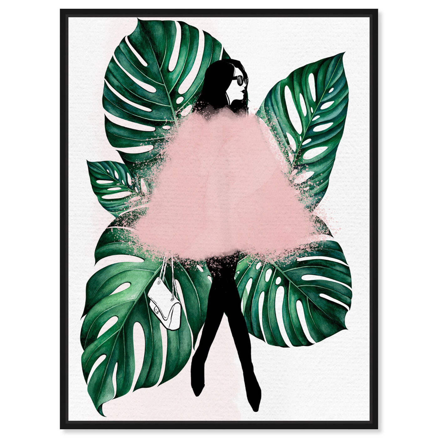 Front view of Among the Leaves featuring fashion and glam and outfits art.