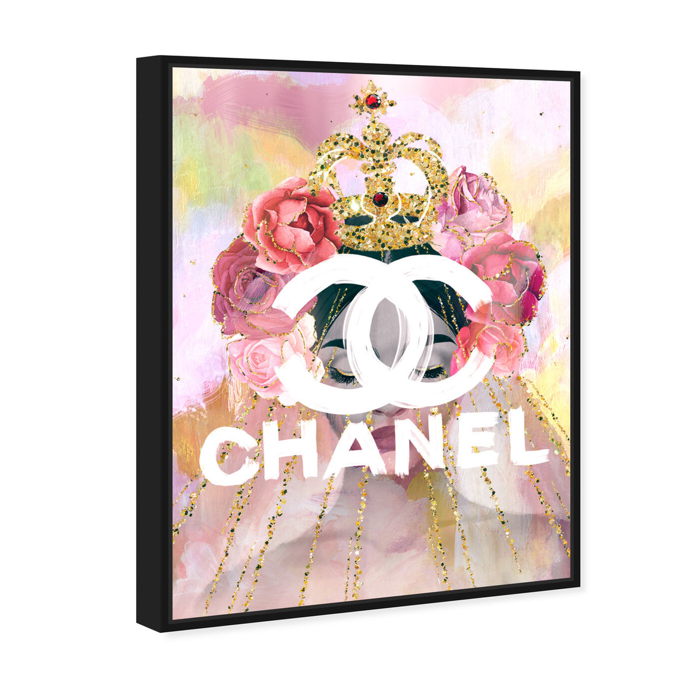 Angled view of Crown Couture Queen featuring fashion and glam and lifestyle art.