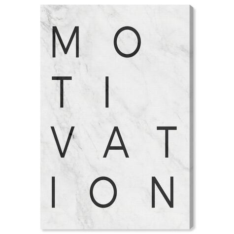 Motivation Minimalist Marble Paper