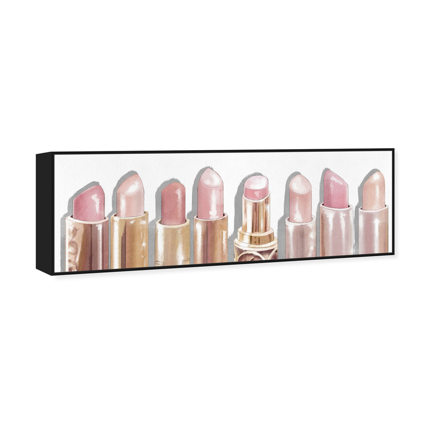 Angled view of Lipstick Shades featuring fashion and glam and makeup art.