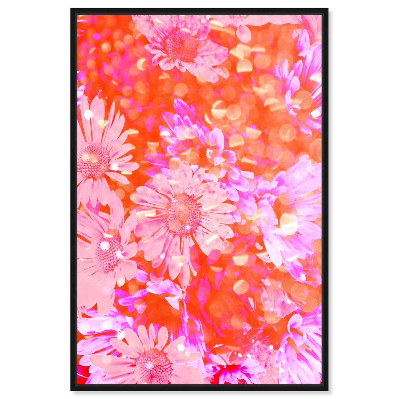 Front view of Flower Madness featuring floral and botanical and florals art.