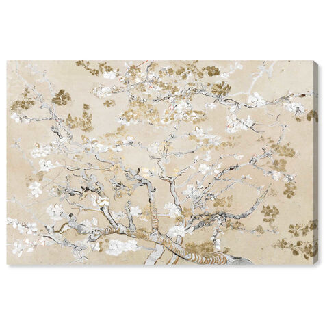 Van Gogh in Golden Blossoms Inspiration