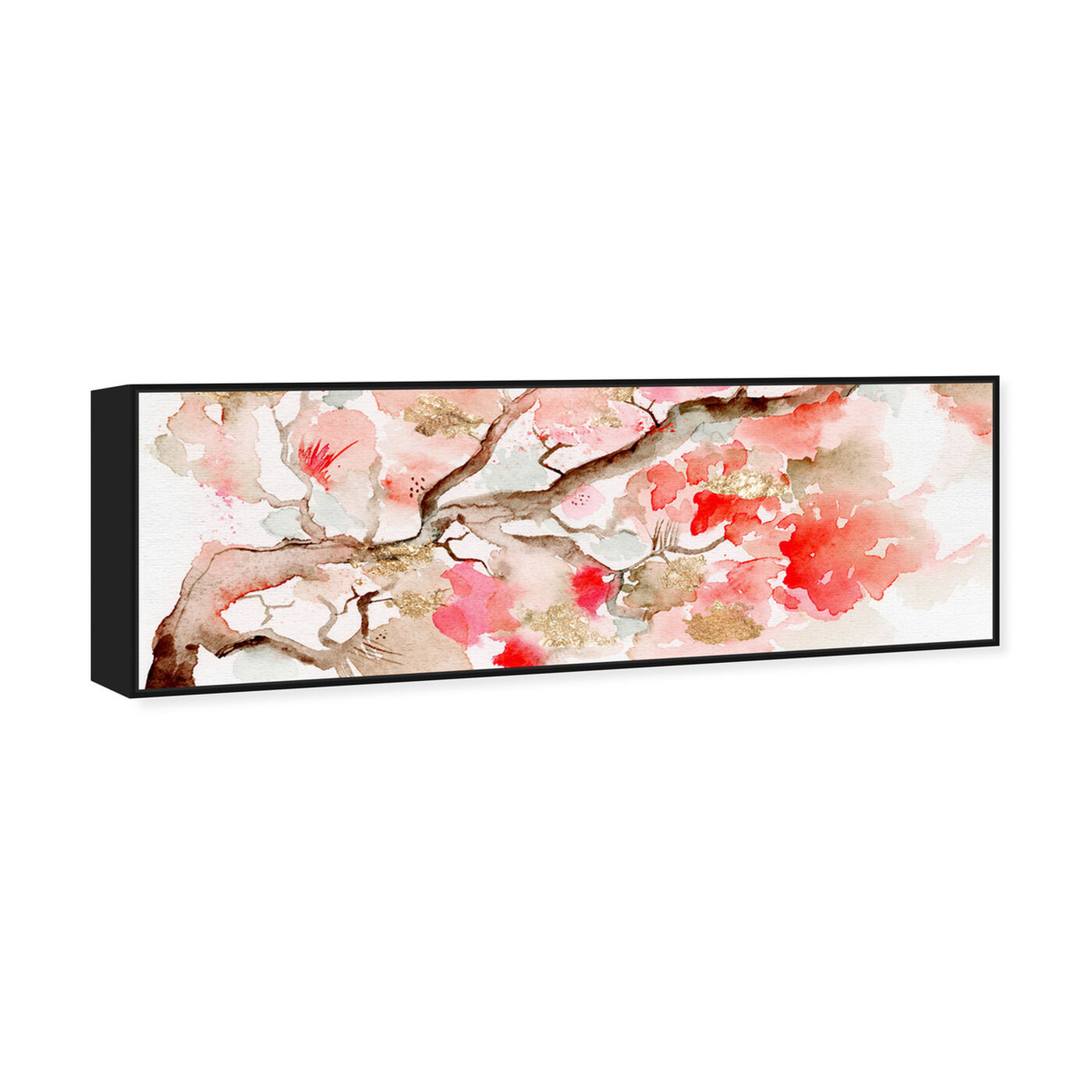Angled view of Under the Blossom Tree featuring world and countries and asian cultures art.