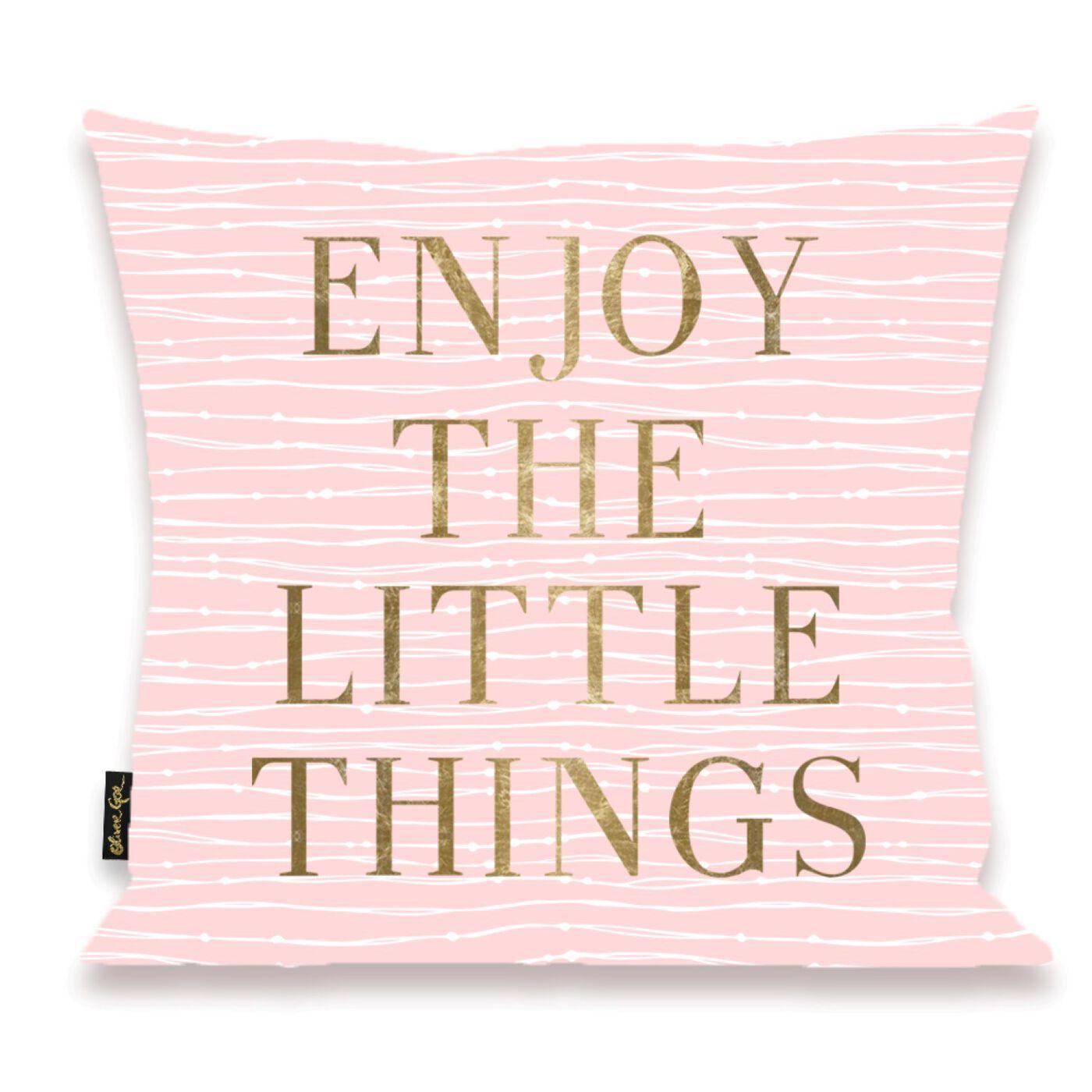Enjoy Everything Pillow