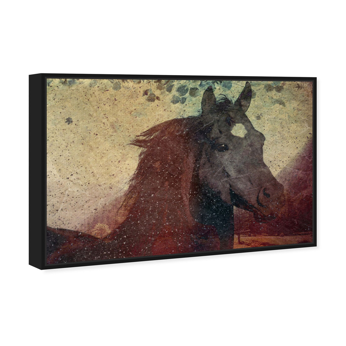 Angled view of Glare featuring animals and farm animals art.