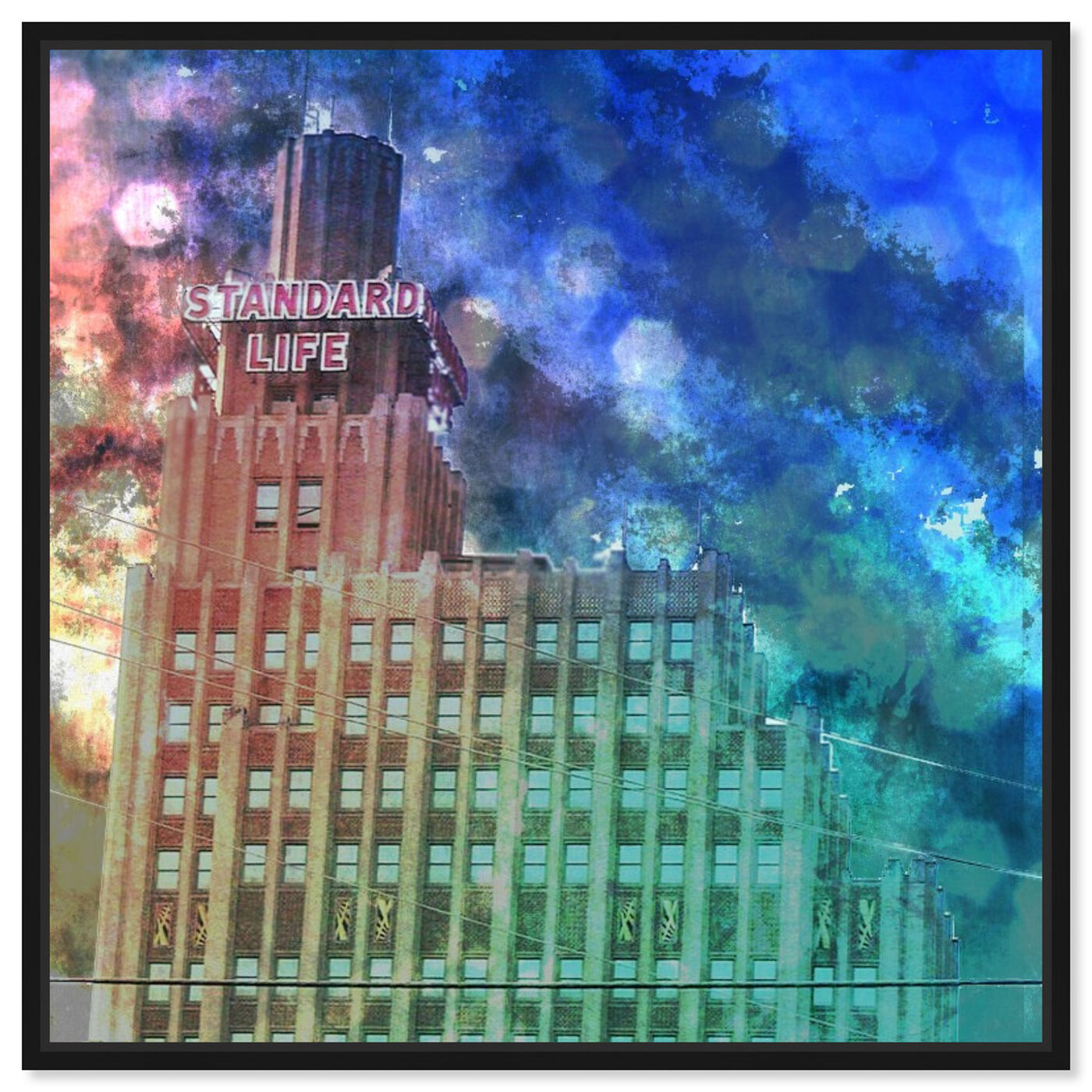 Front view of Standard Life featuring architecture and buildings and structures art.