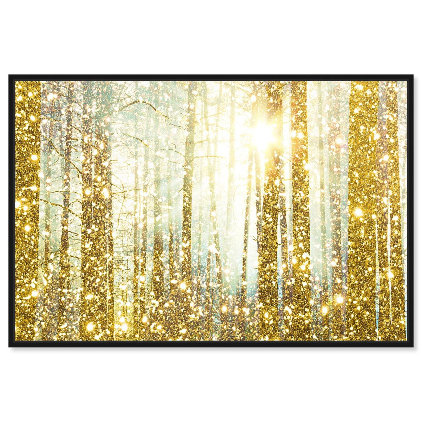Front view of Magical Forest  featuring nature and landscape and forest landscapes art.