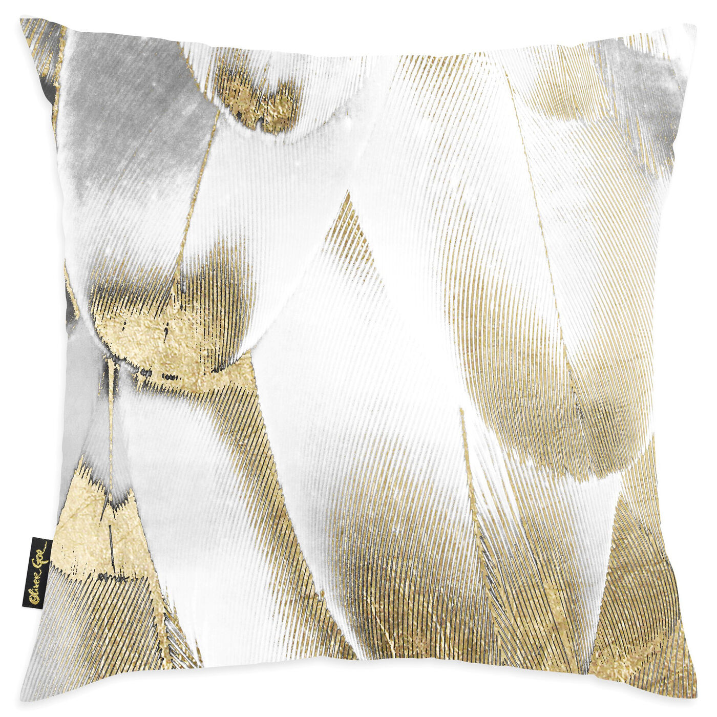 Royal Feathers Pillow I