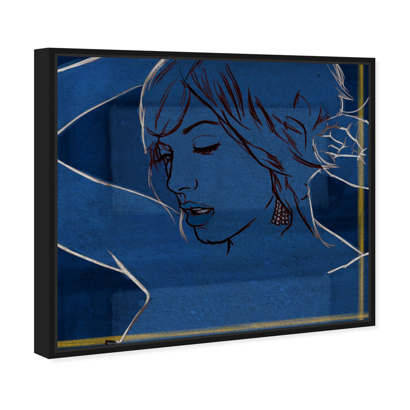 Angled view of Got the Blues featuring fashion and glam and portraits art.