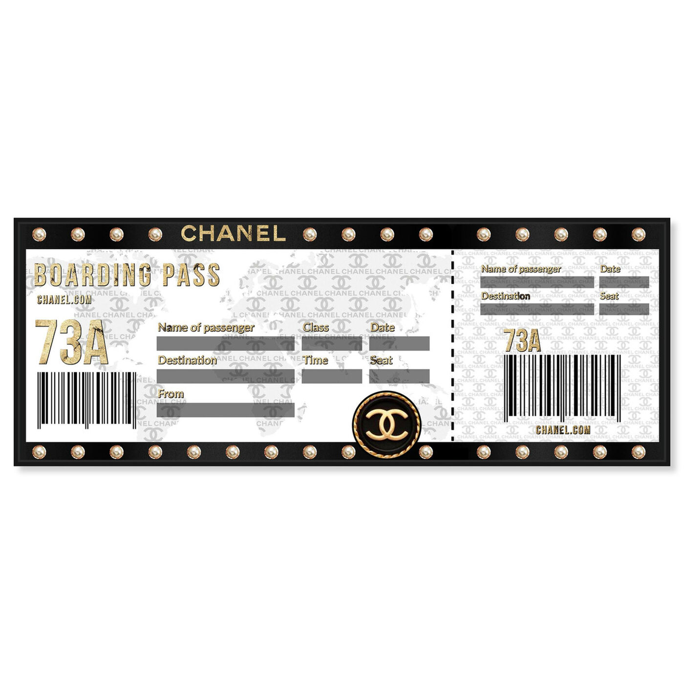Front view of Ticket to Paris featuring world and countries and international art.