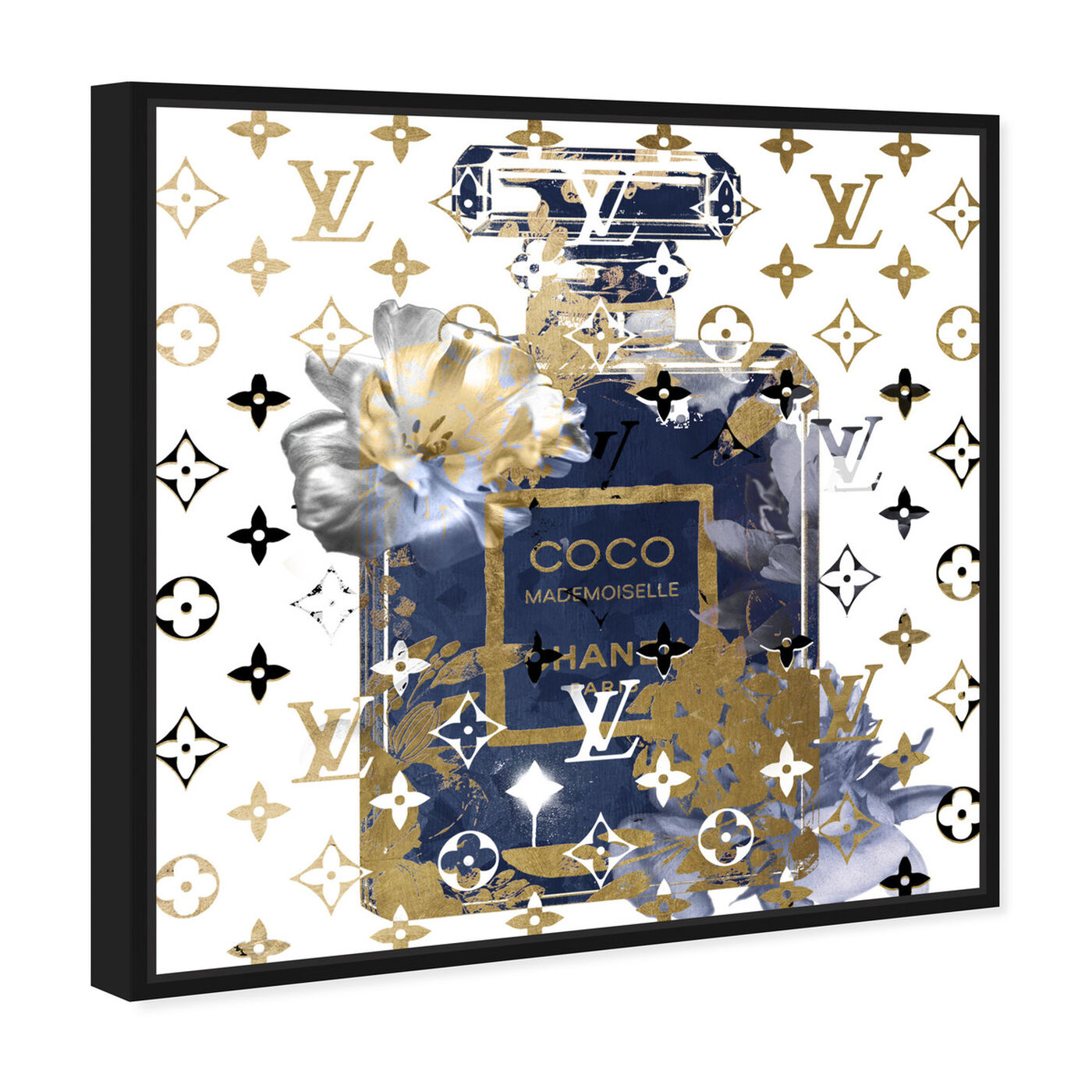 Angled view of Coco Blinded Love Sapphire featuring fashion and glam and perfumes art.