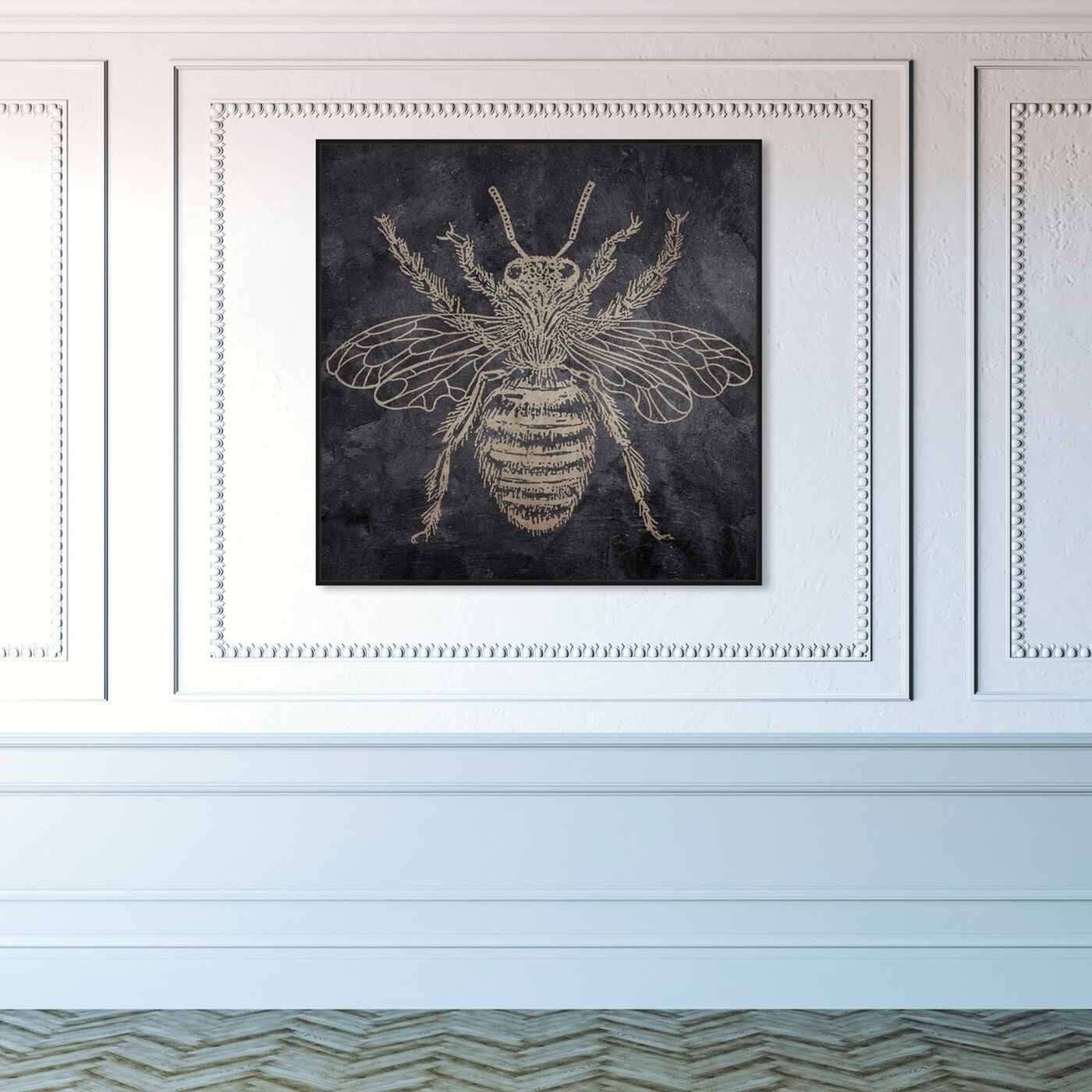 Hanging view of Bee featuring animals and insects art.