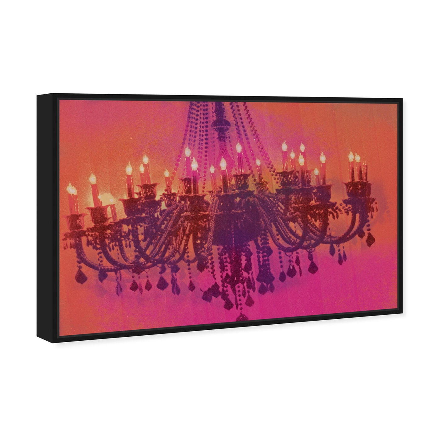 Angled view of Light me up featuring fashion and glam and chandeliers art.