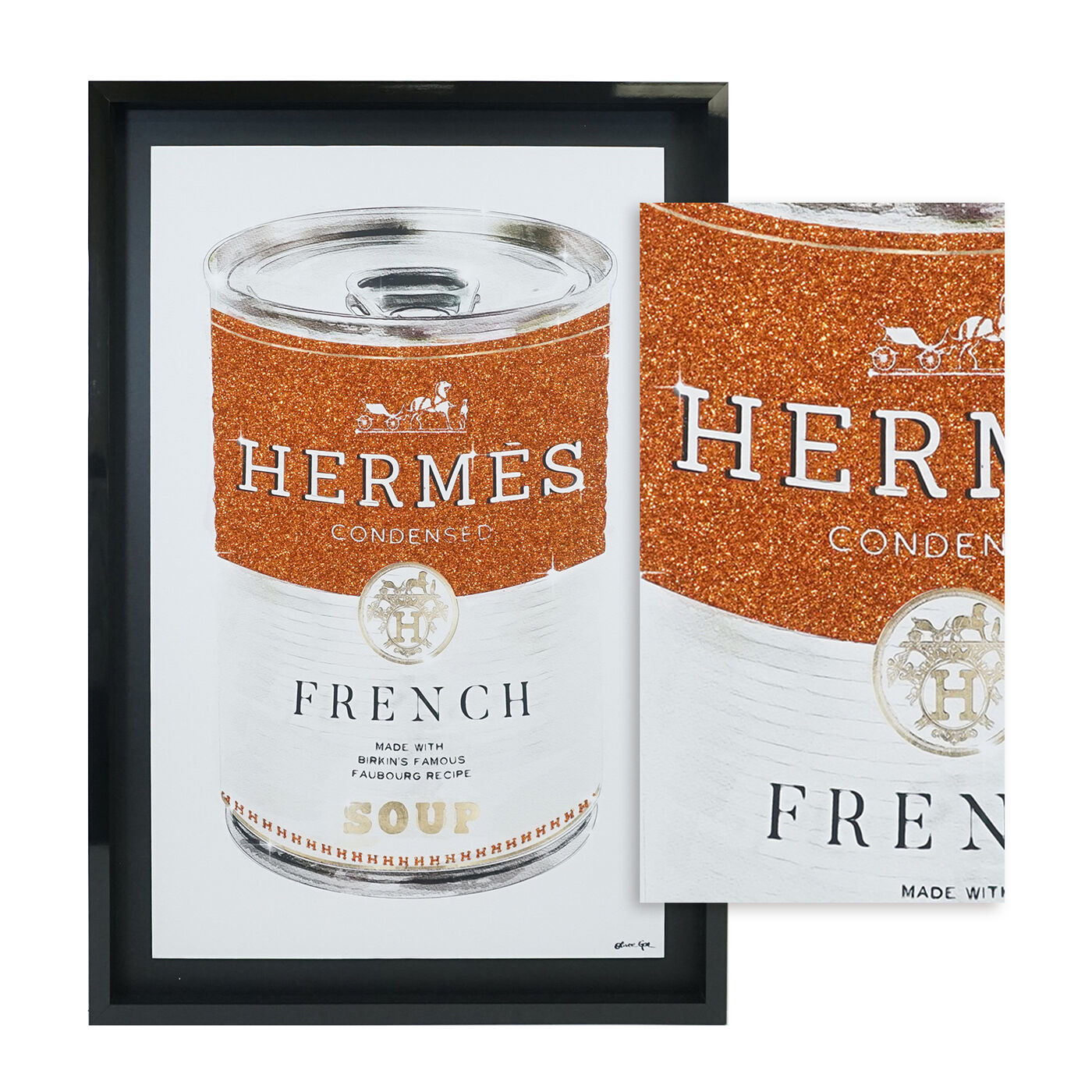 French Luxe Soup - Glitter