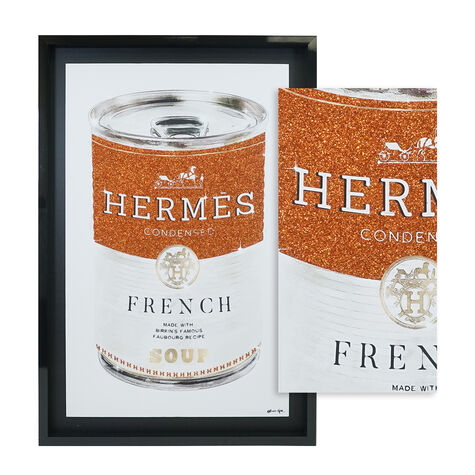 French Luxe Soup Can Glitter