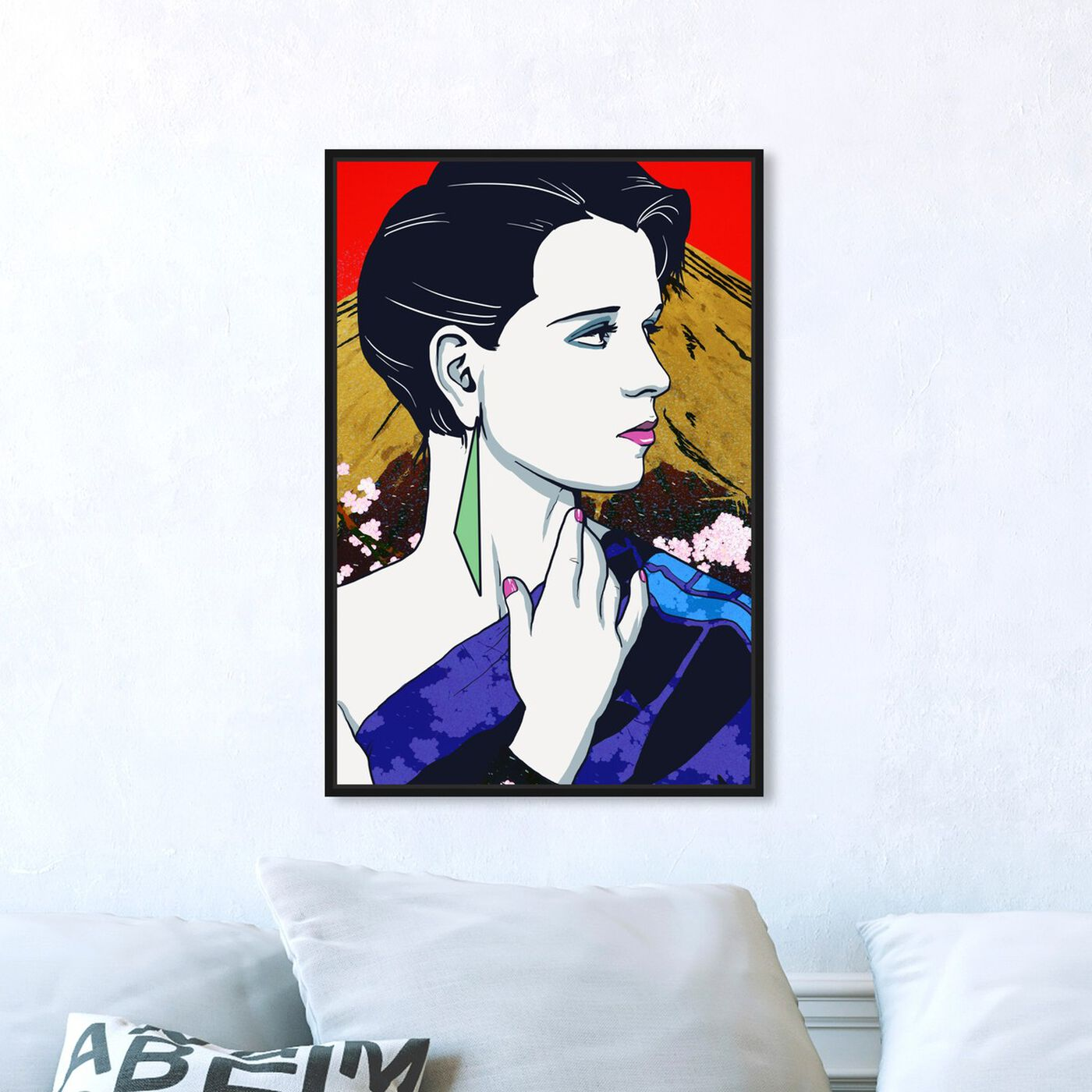 Hanging view of The Eighties in Tokyo featuring fashion and glam and portraits art.