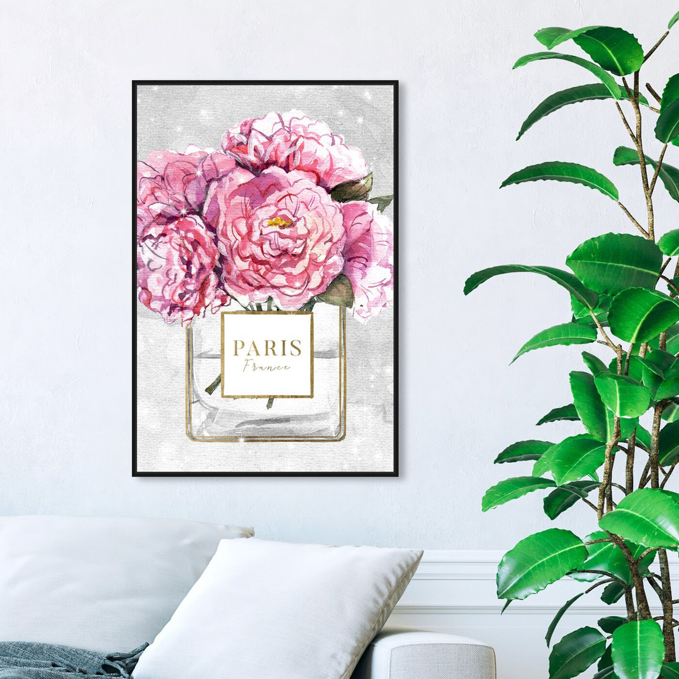 Hanging view of Sparkling Floral Perfume featuring fashion and glam and perfumes art.