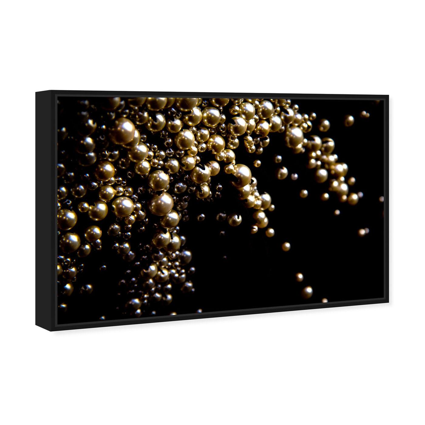 Angled view of Mark Zunino - Raining Beads II featuring fashion and glam and jewelry art.