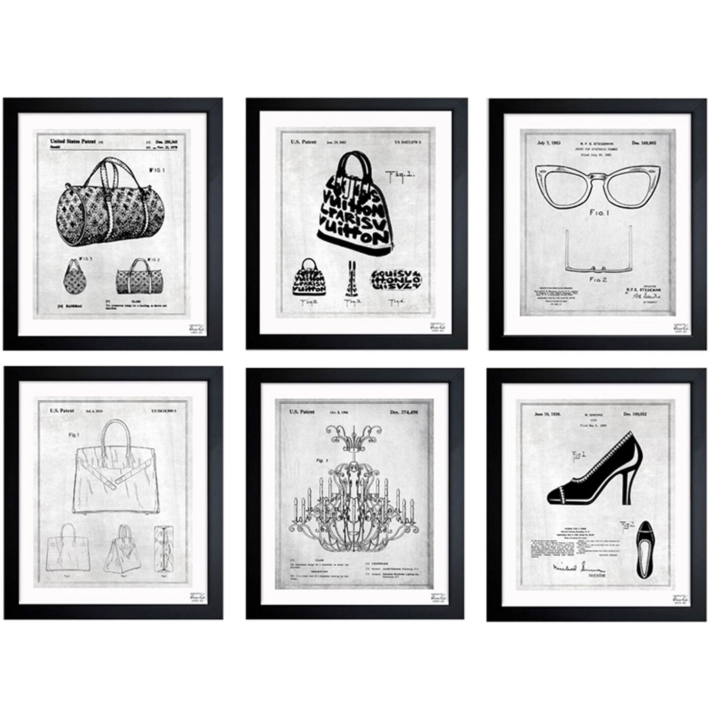 Fashion Collection Set of 6