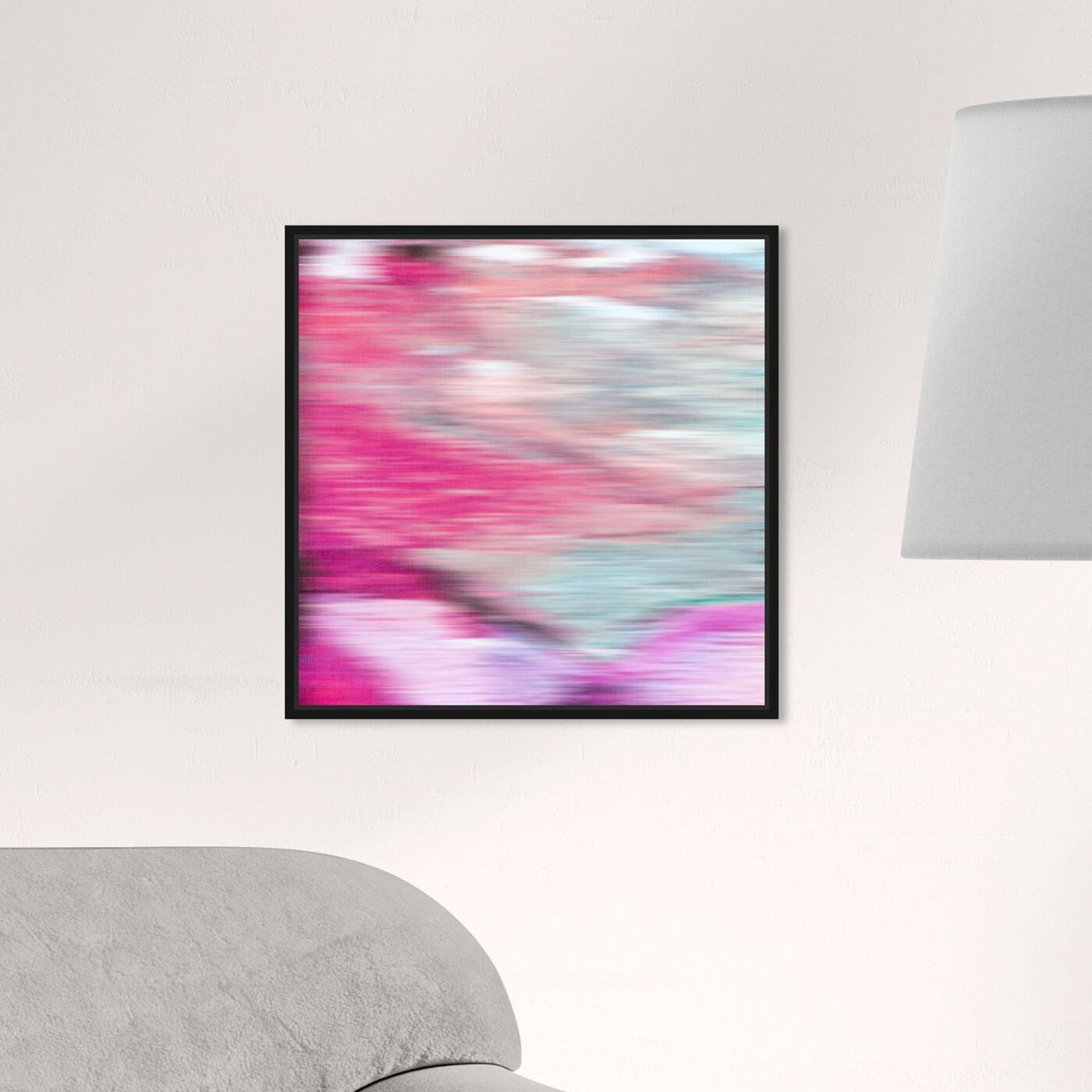 Hanging view of Prelude featuring abstract and paint art.