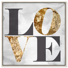 Front view of Build on Love Stone featuring typography and quotes and love quotes and sayings art. image number null