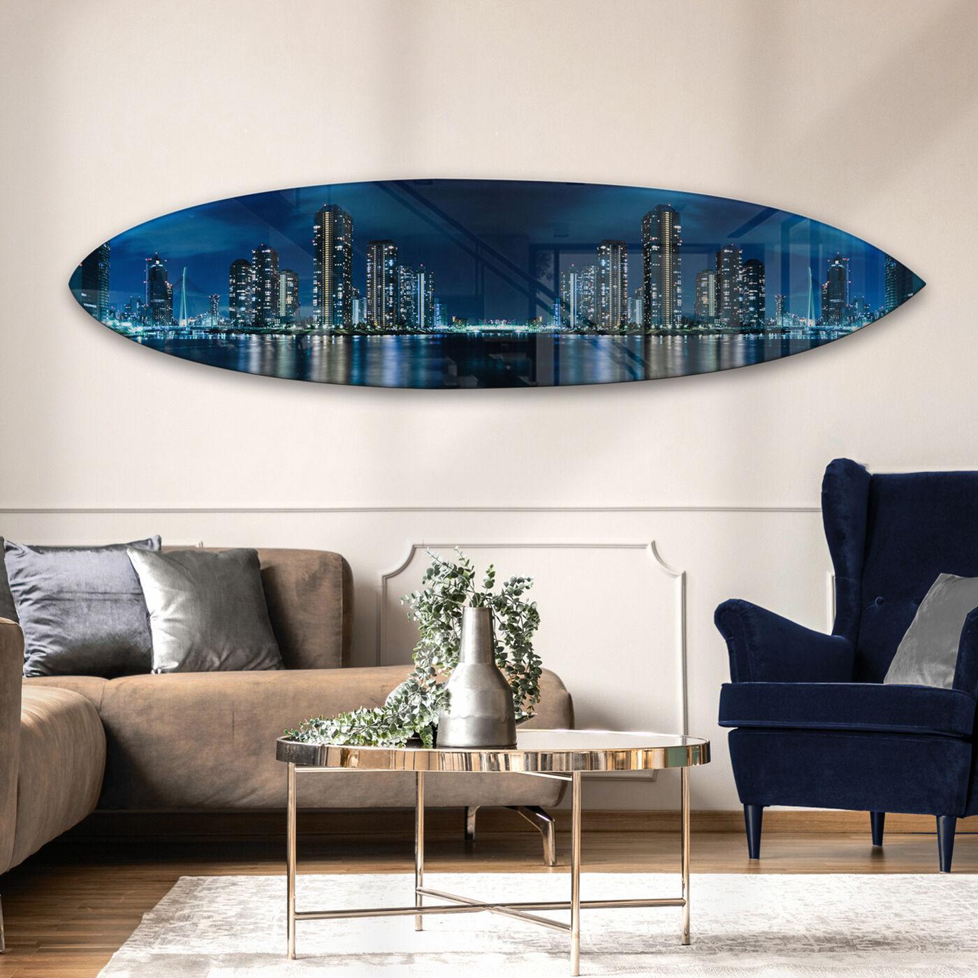 Tokyo Night Surfboard