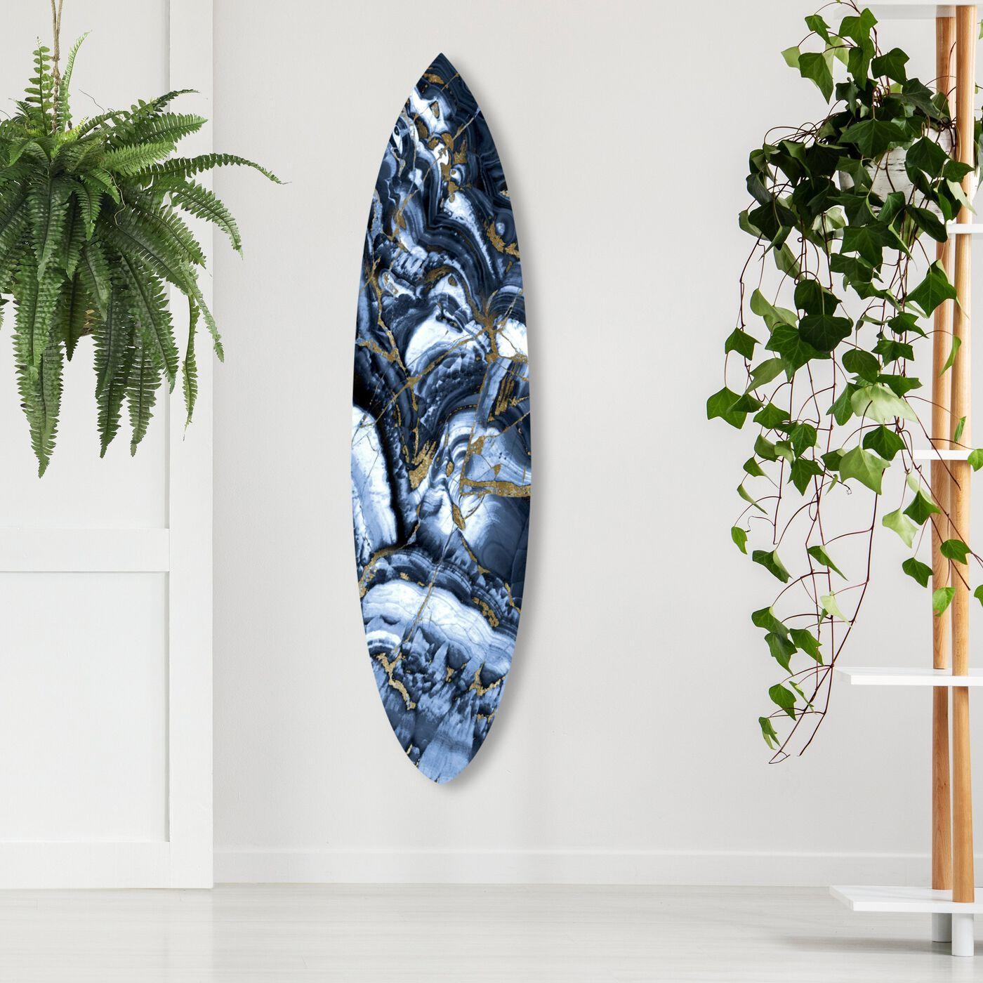 Blue Agate Surf Board