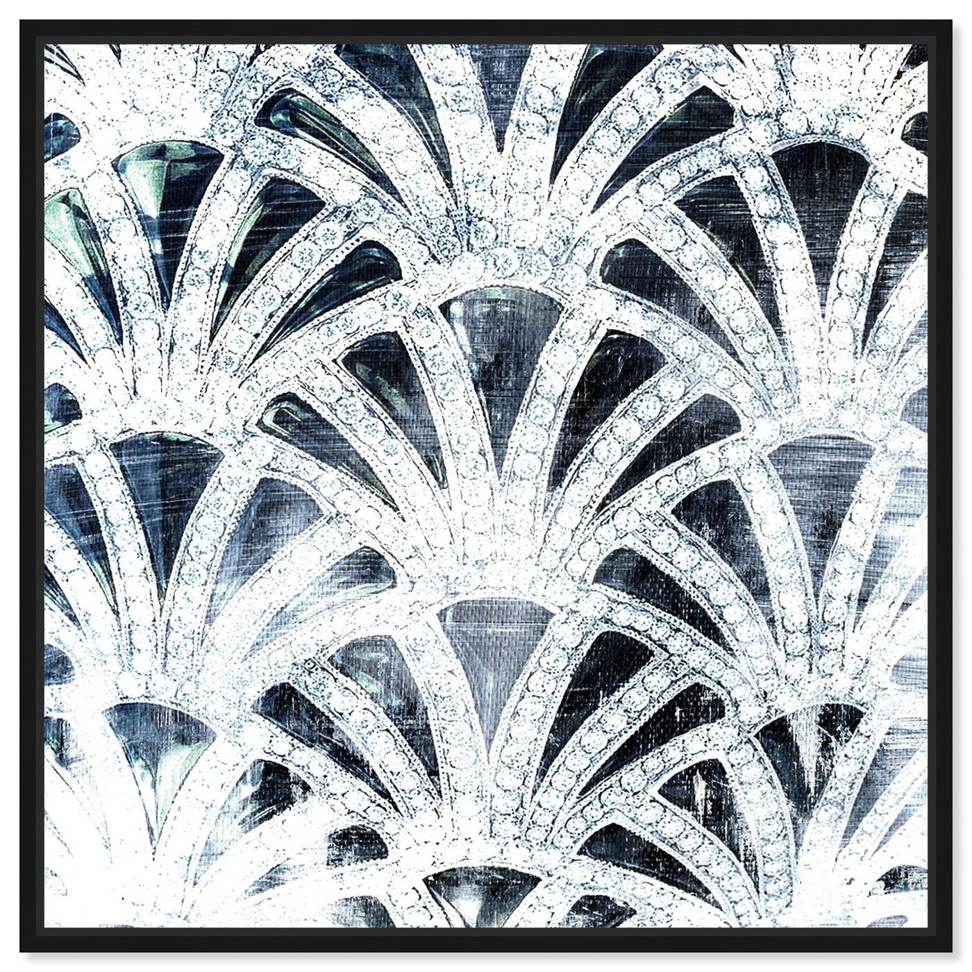 Front view of Diamonds Deco featuring abstract and patterns art.