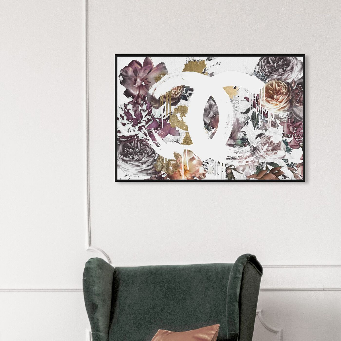 Hanging view of Couture Renaissance White featuring fashion and glam and fashion art.