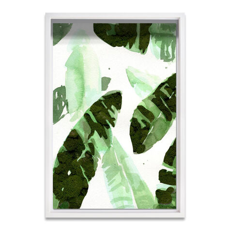 Tropical Leaves Moss Live Art