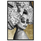 Front view of Goddess of Tigris featuring fashion and glam and portraits art. image number null