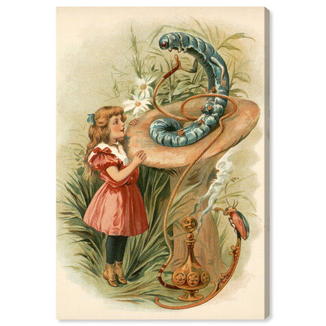 Alice and the Caterpillar 1898
