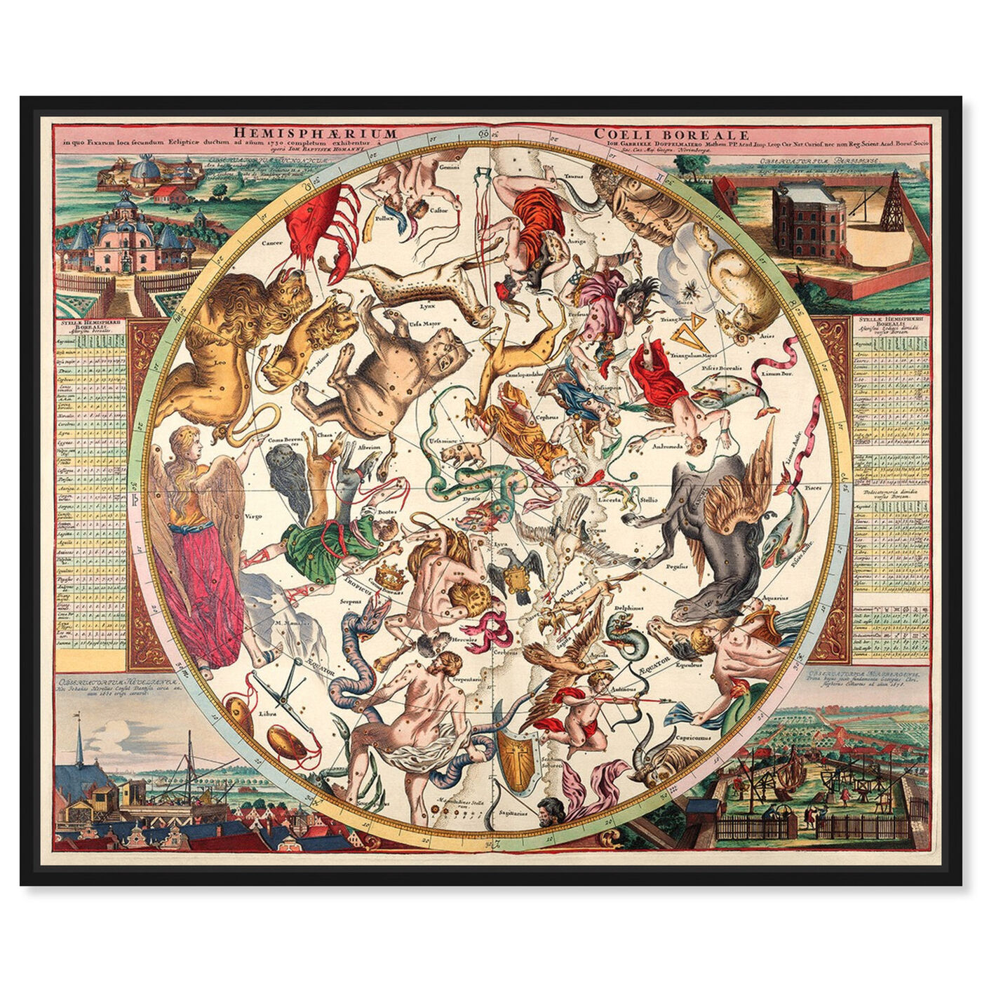 Front view of Horoscope Boreali featuring spiritual and religious and zodiac art.