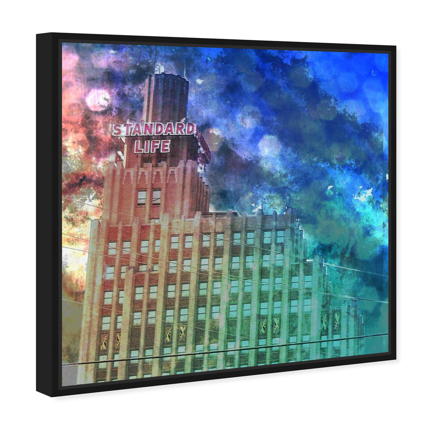 Angled view of Standard Life featuring architecture and buildings and structures art.
