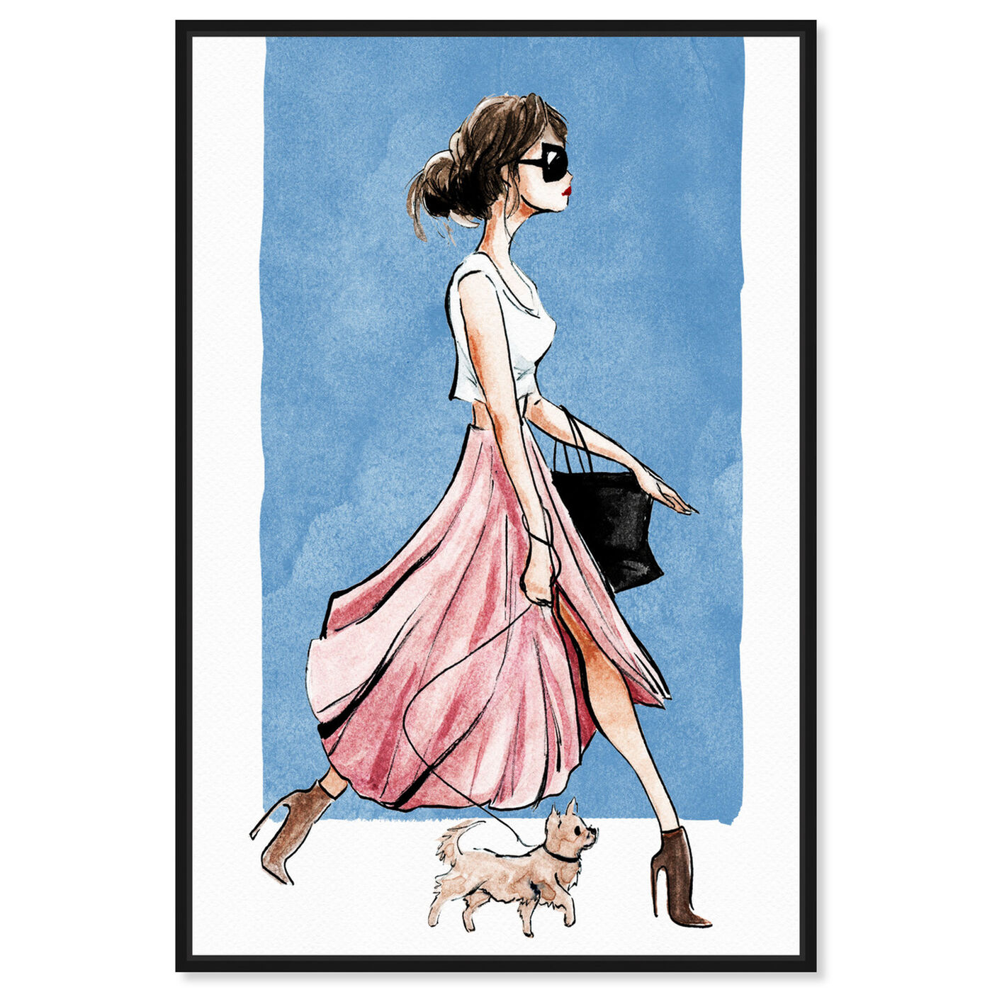 Front view of Dog Walk Couture featuring fashion and glam and outfits art.