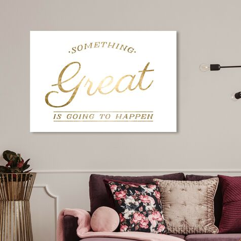 Something Great Gold Foil